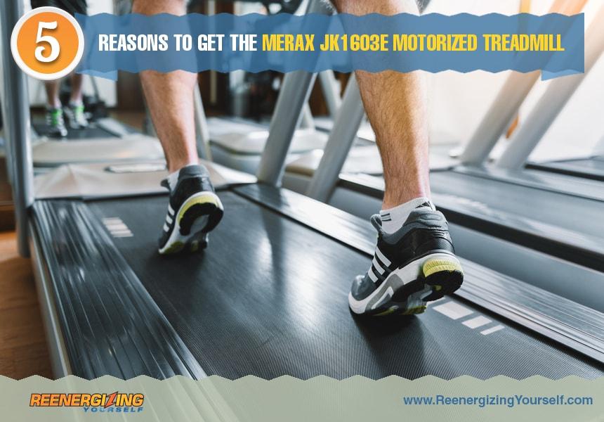 merax JK1603E treadmill