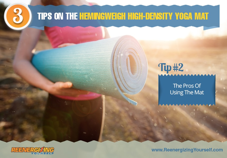 the thickness of a yoga mat should one get